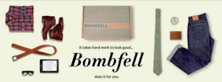 Bombfell subscription box for men