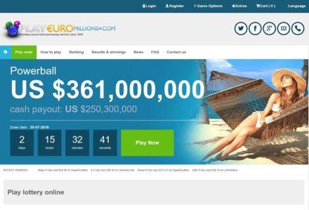 playeuromillions website