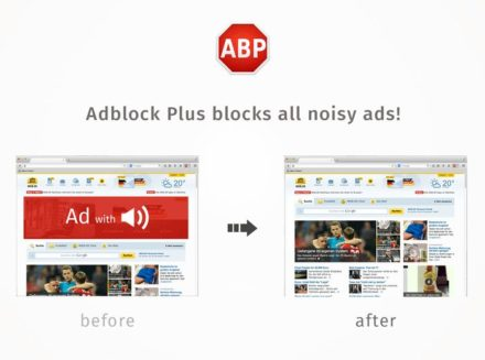 adblock plus before & after
