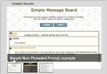 bulletinboards.com dample