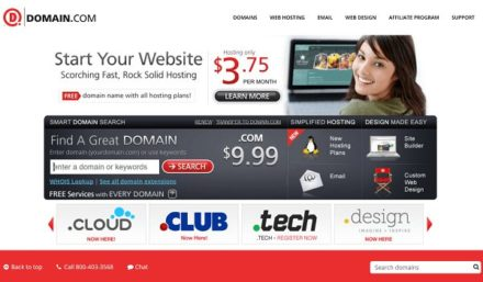 domain.com website