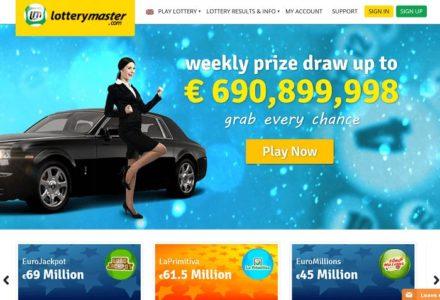 lotterymaster website