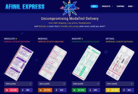 Afinil Express Website