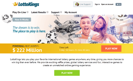 LottoKings Review: An Online Lottery Site You Must Try!