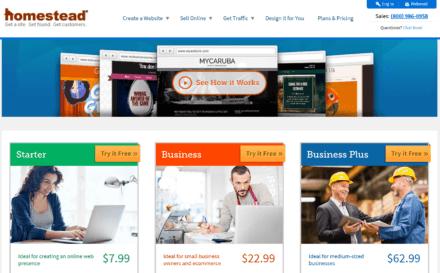homestead website