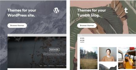 Pixel Union WordPress and Tumblr