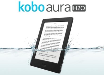 Kobo Aura H2O Waterproof