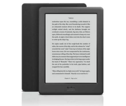 Kobo Touch 2.0 Front Back