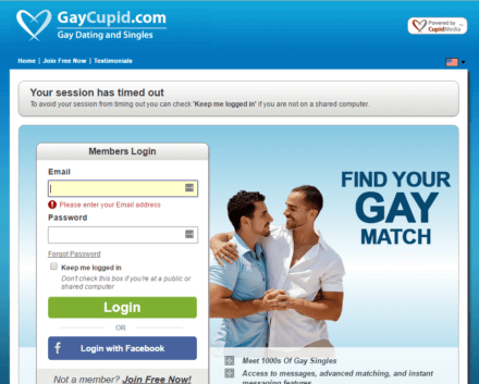 Gay cupid dating site