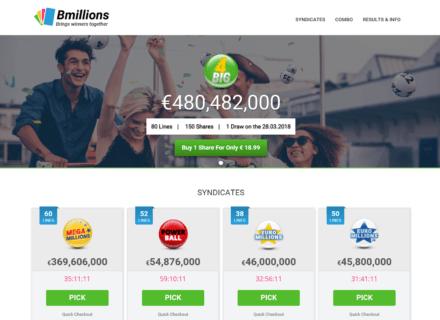 Bmillions Website