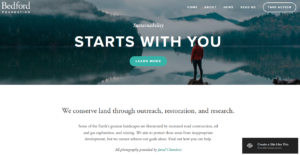 Squarespace nonprofit website template