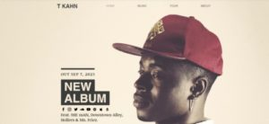 Wix Music Website Template