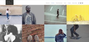 Wix photography portfolio site template