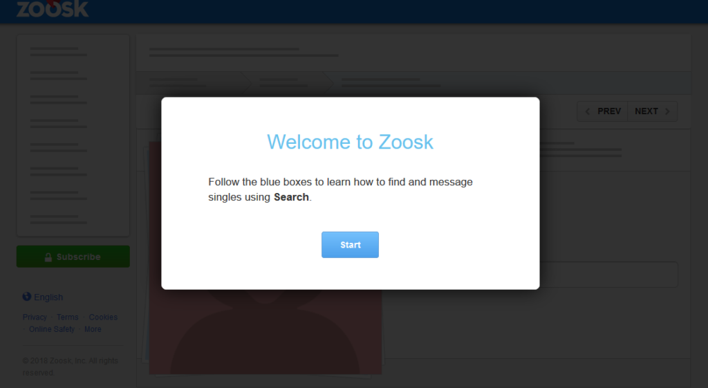 zoosk subscription fee