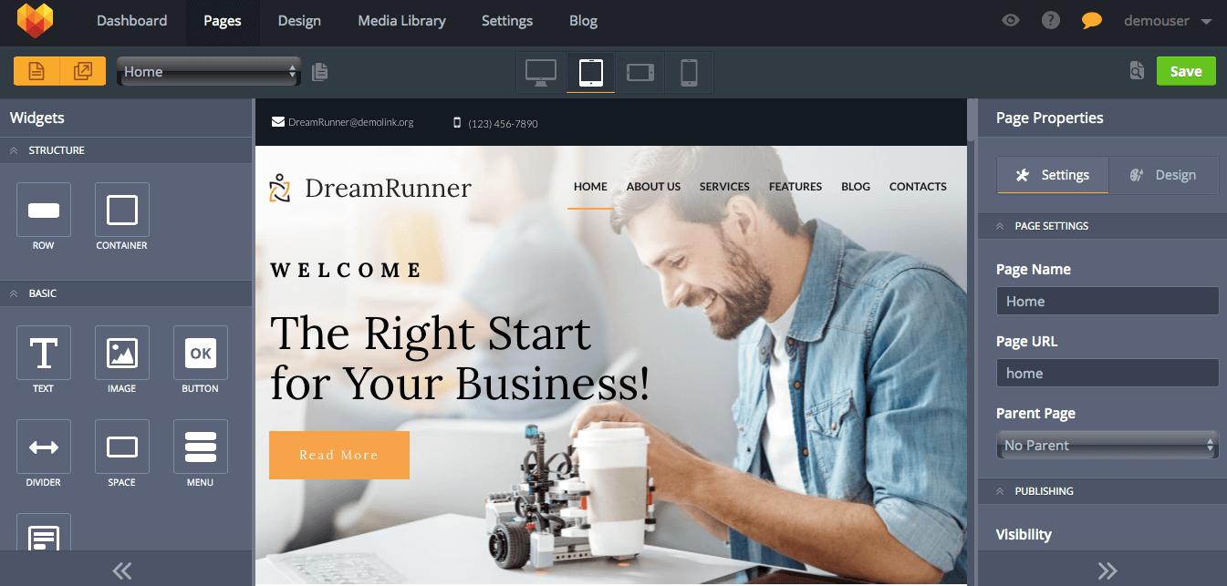 Motocms Website Builder Review 2018 Build Your Dream Website